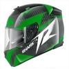 SHARK SPEED-R 2 CARBON RUN Black green white