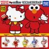 กาชาปอง ห้อยโทร/คล้องกระเป๋า คิตตี้เซซามี 5 แบบ (Hello Kitty x Sesame Street Mascot)