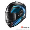 SHARK SPARTAN GUINTOLI Carbon Chrom Blue