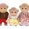 ครอบครัวซิลวาเนียน ลิง 3 ตัว Sylvanian Families Monkey Family
