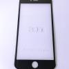 ฟิล์มกระจกนิรภัย Iphone 6 Plus/6S Plus สีดำ 3D เต็มจอสีแท้โค้งถึงขอบ