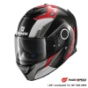 SHARK SPARTAN CARBON BIONIC Carbon Red Anthracite