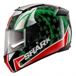 SHARK SPEED-R 2 SYKES Black Red Green