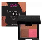 Sleek Makeup Bronze Block 4 Colour Bronzer 9.3g #Dark 099