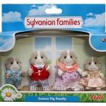 ครอบครัวซิลวาเนียน..พริตตี้เฟอร์-กินนี่พิก 4 ตัว (UK) Sylvanian Families Prettyfur Guinea Pig Family