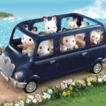 ซิลวาเนียน รถยนต์ 7ที่นั่ง Sylvanian Families Family Seven Seater