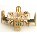ซิลวาเนียน ชุดโต๊ะอาหารค่ำ (JP) Sylvanian Families Dining Room Set
