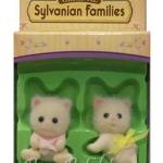 ซิลวาเนียน เบบี้แฝดแมวเปอร์เซีย ท่านั่ง-คลาน (EU) Sylvanian Families Persian Cat Twins