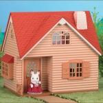 บ้านตุ๊กตาซิลวาเนียนพร้อมโคมไฟ (UK) Sylvanian Families Cosy Cottage