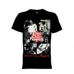 เสื้อยืด วง Red Hot Chili Peppers แขนสั้น แขนยาว S M L XL XXL [2]
