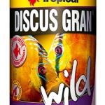อาหารปลา TROPICAL Discus Gran Wild (สูตรสำหรับปอมป่า และปลาป่า)