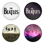 ของที่ระลึกวง The Beatles เลือกด้านหลังได้ 4 แบบ เข็มกลัด, แม่เหล็ก, กระจกพกพา หรือ พวงกุญแจที่เปิดขวด 1 แพ็ค 4 ชิ้น [7]