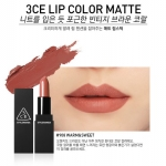 ( พร้อมส่ง ) 3CE MATTE LIP COLOR #908 Warm&Sweet