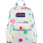 JanSport กระเป๋าเป้ รุ่น Half Pint - Pink Pansy Confetti Dots