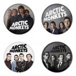 ของที่ระลึกวง Arctic Monkeys เลือกด้านหลังได้ 4 แบบ เข็มกลัด, แม่เหล็ก, กระจกพกพา หรือ พวงกุญแจที่เปิดขวด 1 แพ็ค 4 ชิ้น [16]