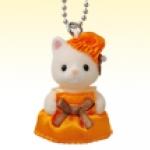 พวงกุญแจซิลวาเนียน เบบี้แมวซิลค์ (JP) Sylvanian Families Silk Cat Baby