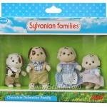 ครอบครัวซิลวาเนียนดัลเมเชี่ยนช็อคโกแล็ต 4 ตัว (UK) Sylvanian Chocolate Dalmatian Family