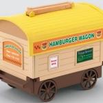 [SOLD OUT] ซิลวาเนียน..รถขายแฮมเบอร์เกอร์ (JP) Sylvanian Families Hamburger Wagon Shop