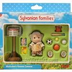 ซิลวาเนียน ลิงน้อยมัลคอมกับชุดกีฬา (UK) Sylvanian Families Malcolm's Games Lesson