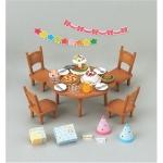 ซิลวาเนียน..โต๊ะอาหารปาร์ตี้ (EU) Sylvanian Families Party Set