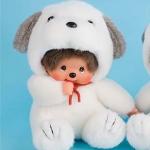 ตุ๊กตาลิงมอนจิจิ-ยูเมะคิจิคุง 18 ซม.(Umekichi Monchhichi Kun)