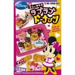 [SOLD OUT] รีเมนท์อาหารจิ๋ว ชุดมินนี่โดนัท 8 แบบ Re-ment Minnie Lovely Donuts