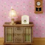 ซิลวาเนียน โต๊ะหนังสือและนาฬิกา (JP) Sylvanian Families Clock & Bookcase Set