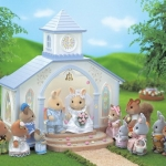 โบสถ์แต่งงานซิลวาเนียน (UK) Sylvanian Families Wedding Chapel with Bride & Groom