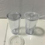 แก้วพลาสติก2ชั้น450mlรหัส1001 1