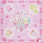 ผ้าเช็ดหน้า จีเวลเพ็ท Jewelpet 42x42 cm Handkerchief - Ribbon