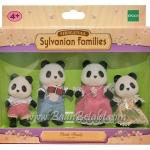 ครอบครัวซิลวาเนียน..แบมบู-หมีแพนด้า 4 ตัว (EU) Sylvanian Families Bamboo Panda Family