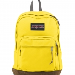 JanSport Right Pack - Yellow card