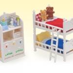ซิลวาเนียน เฟอร์นิเจอร์ห้องนอนเด็ก (US) Calico Critters Children's Bedroom Set