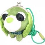 กระเป๋าสตางค์ตุ๊กตาหมาใบชาเรียวคุ แบบเต็มตัว (Ochaken: Ryoku)