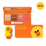( พร้อมส่ง ) Missha Line Friends Eye Color Studio Mini (Sally) 7.2g