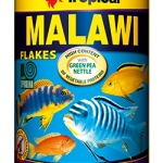 อาหารปลา TROPICAL Malawi Flakes (สูตรสำหรับปลา Cichlids)