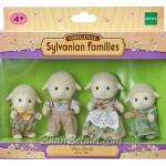 ครอบครัวซิลวาเนียน แกะเดล 4 ตัว Sylvanian Families Dale Sheep Family