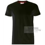 เสื้อยืดสีขาวซุปเปอร์ซอฟท์ Super Soft Black Round Neck Tshirt
