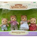 ครอบครัวซิลวาเนียน หมีมามาเลด 4 ตัว (EU) Sylvanian Families Marmalade Bear Family