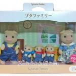 ครอบครัวซิลวาเนียน หมู 5 ตัว (JP) Sylvanian Pig Family