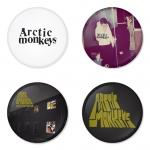 ของที่ระลึกวง Arctic Monkeys เลือกด้านหลังได้ 4 แบบ เข็มกลัด, แม่เหล็ก, กระจกพกพา หรือ พวงกุญแจที่เปิดขวด 1 แพ็ค 4 ชิ้น [4]