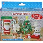 ซิลวาเนียน ชุดคุณพ่อกับต้นคริสต์มาส (UK) Sylvanian Families Father Christmas & Tree Set
