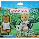 ซิลวาเนียน..ชุดคุณหมอกับจักรยาน (UK) Sylvanian Families Doctor with Bike