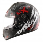 SHARK S600 PINLOCK PLAY Black Red Anthracite