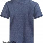 เสื้อยืดสีฟ้าคราม เนื้อซุปเปอร์ดาย SuperDry Sky Blue Round Neck Tshirt