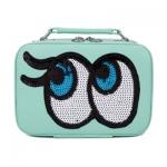 กระเป๋าเครื่องสำอาง big eyes mini สีเขียว