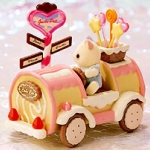 [Out of Stock] ซิลวาเนียน..รถขนมเค้ก (JP) Sylvanian Families Cake Car