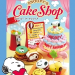 [SOLD OUT] รีเม้นท์อาหารจำลอง ชุดร้านเค้กสนุปปี้ 8 แบบ Re-ment Snoopy's Cake Shop