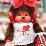 ตุ๊กตาลิงมอนจิจิดีเจ ไซส์ S (20cm DJ Dressed Monchhichi Girl)
