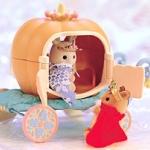 [Out of Stock] รถฟักทองซิลวาเนียน (JP) Sylvanian Families Pumpkin Cart